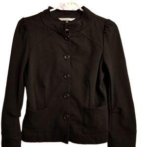 Diane Von Furstenberg Button Front Blazer Jacket